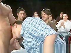 Facial on gay during...