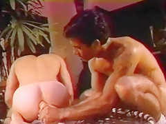 Muscular gay dildo and sex...