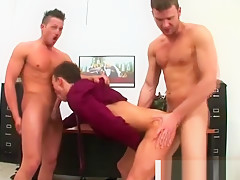 Coworker takes dick both ways...