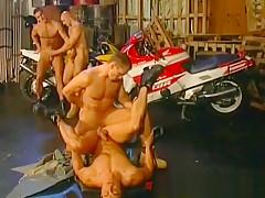 Naked having sex in garage...