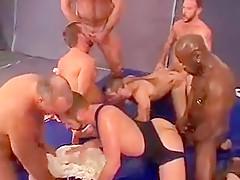 Big orgy...