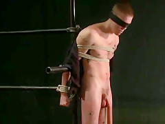 Extreme gay bondage action part4...