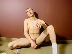 Pushed his cock ass young boy stud chris...