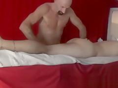 Massage buttocks and ass by nudemassage...