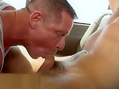 Sex shower anal exercising...