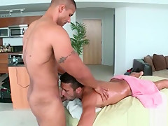 Dude giving blowjob to...