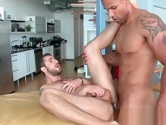 Filling hole with cock...