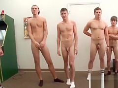 Fraternity ritual for new students...