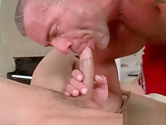 Proving how good he cant suck cock...