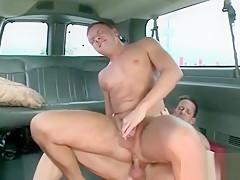 Doing boys bus...