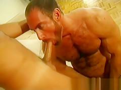 Pumping gay bears porn...