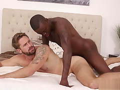 Orders a deep tissue massage interracial gay sex...