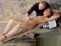 Bondage electro british lad chad chambers is his...