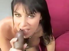 Cougar sucks dick...