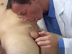 Gay doctor porn gay physical exam with erection...