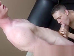 Sexy boy straight straight college guy wank it...