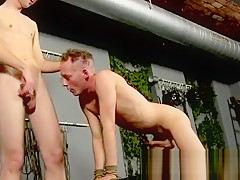 Sex anal aiden cannot fight back the inviting...