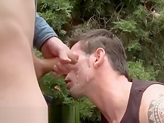 Outdoor time anal sex after a basketball...