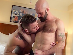 Gets his tight asshole drilled...