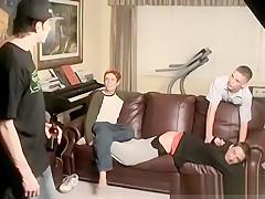 Naked white spanking boys movieture gay an orgy...
