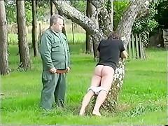 Training spanking...
