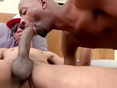 Big dick gay oral sex with cumshot...