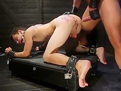Breaking in the slave boy...