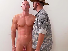 Pissing by army gay extra training for the...