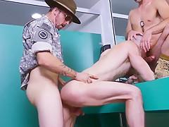 Army xxx good anal training...