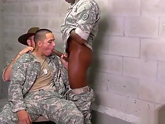 Free army gay wrestling and military first time...