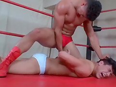 Crazy porn wrestling incredible like in your dreams...
