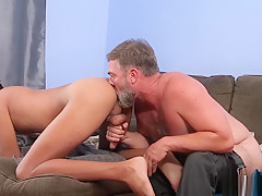 Horny hard stepdad latino impress...