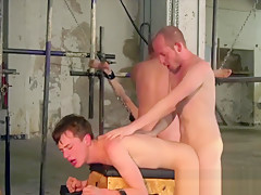 2 twinks bondaged by daddy and his friend...