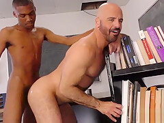 Adam russo nailed in classroom by male hard...