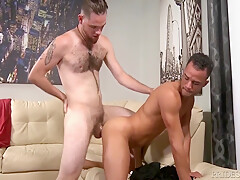 Haired not cut huge prick white twink keeps...
