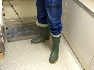 nlboots - green & blue (boots/trousers) Uta Mieike
