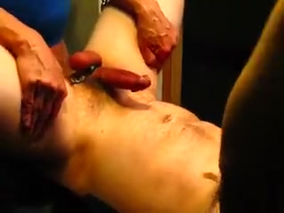 Doxy Fella in a Sling - Part three handjob by masseuse video