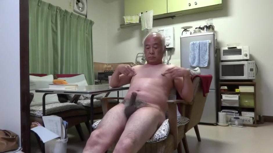 Japanese old man Good feelings man even Touching the nipple Porn I Video