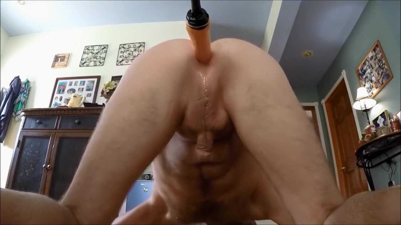 Riding the dildo Deep picture sex throat