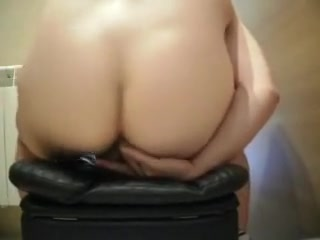 Awesome selffucking and cumshot Del Aguila