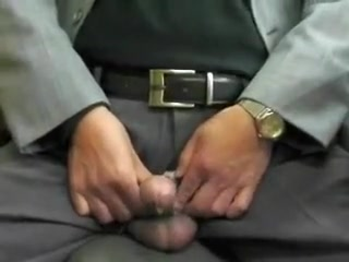Japanese old man.Semen flows out of the penis erect stiff Bdsm spanking a slut for pissing