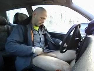 Car wank Wipe your pee hole
