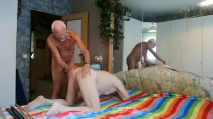 Spankin boy sucking old mans cock