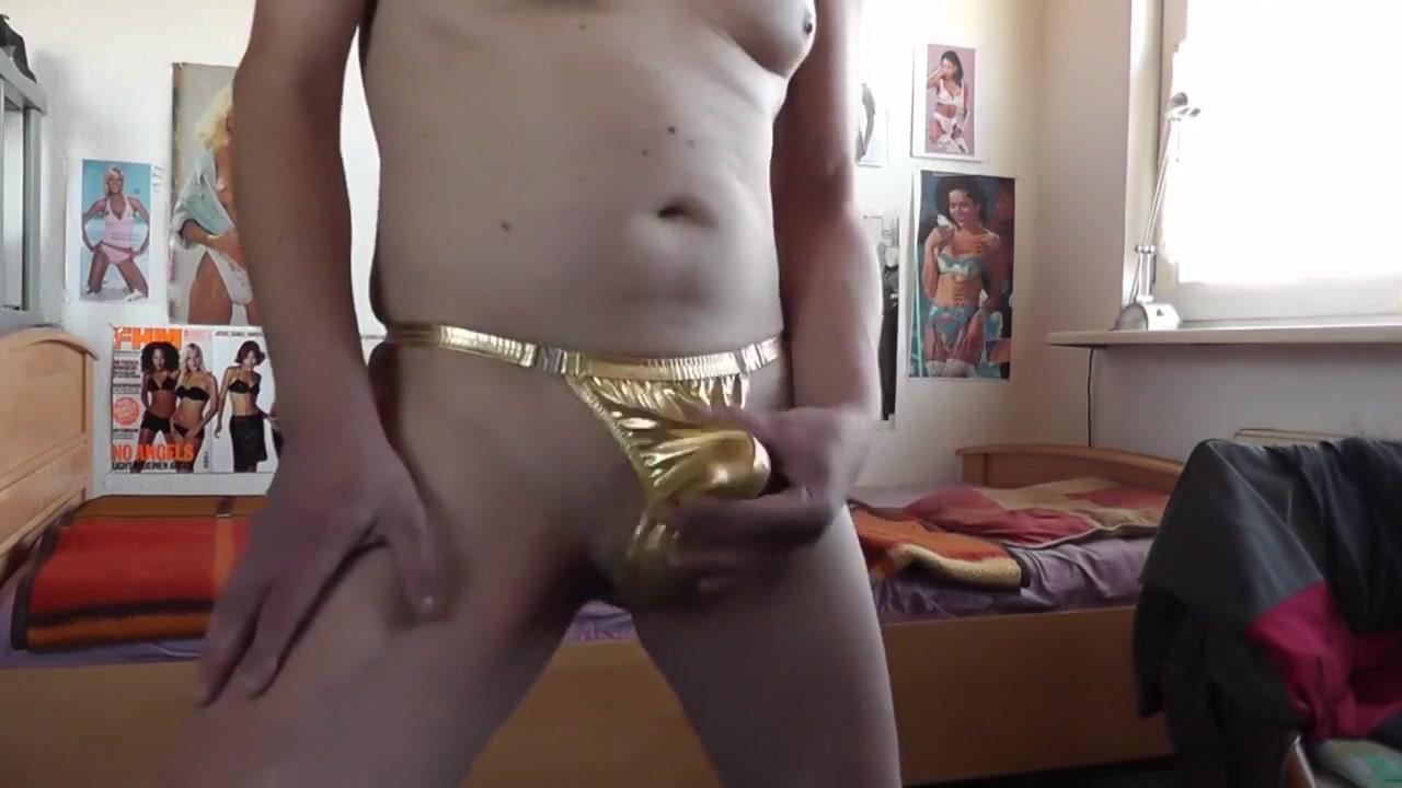 rotgoldener strip Quiet sex toys