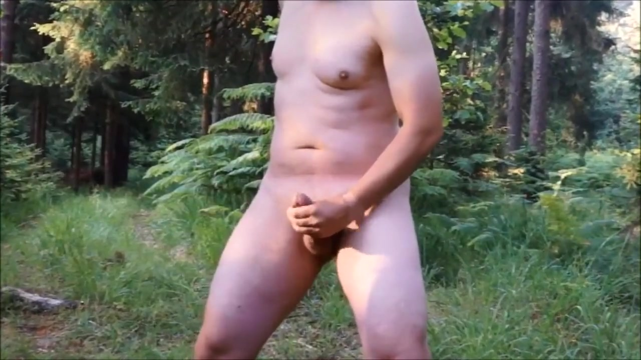 Crazy wanker jerking off at forest crossroads sex anal nude woman