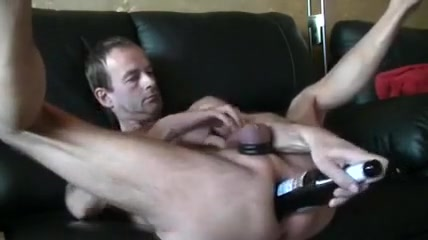 flask of flask in ass Cock love making