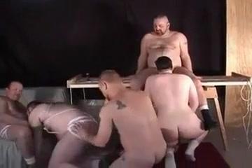 Bear Orgy scene 2 Lean curvy tits ass