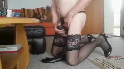 Meine ausgelatschten Ballerinas freak of natural sex