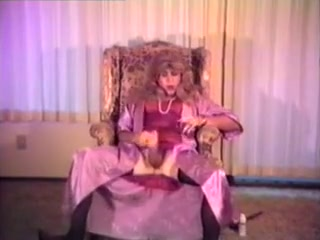 Satin Robe and Slip smoking and stroking 3 Amateur dungeon blog