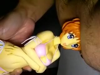 Insert into ass Nanoha GSC 01 Naked chick squirting on dick